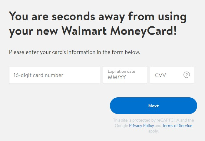 How To Unblock My Walmart MoneyCard