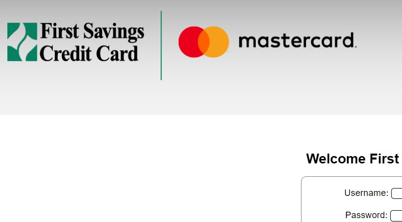 First Savings Credit Card Welcome